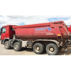 KIPPER MERCEDES BENZ 4141 8X4 2008